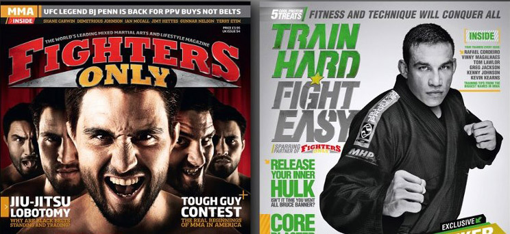 Pittsburgh MMA featured in fighters only magazine